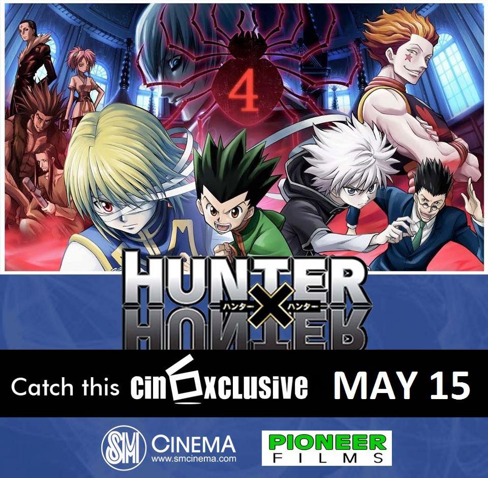 Hunter Hunter Phantom Rouge: Hunter X Hunter Movie Premieres On May 15 In The