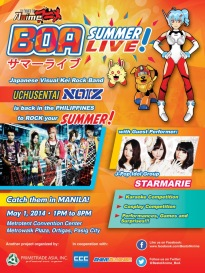 BOA Summer Live Manila_Poster with Starmarie