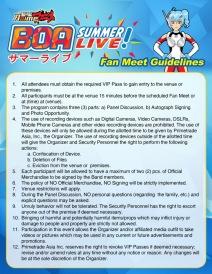 BOA Summer Live_Fan Meet Guidelines