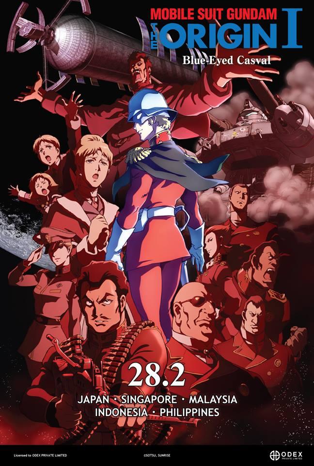 2014_02_Mobile Suit Gundam The Origin I Blue-Eyed Casval