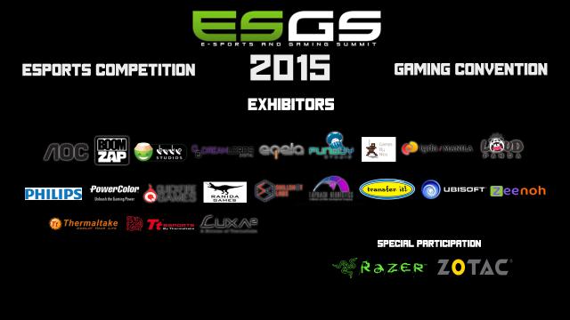 ESGS 2015 Exhibitors