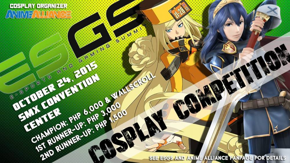 ESGS 2015_Cosplay Competition